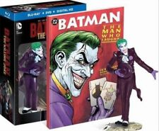Batman The Killing Joke Blu Ray Figurine Graphic Novel Exclusive