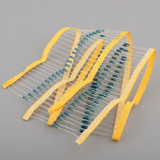 New TOTAL 100pcs 1/4W 100 ohm 100 Ω accuracy Metal Film Resistor 0.25W 1%