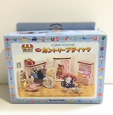 Rare 1998 JP Sylvanian Families (Calico Critters US) Country Boutique Complete