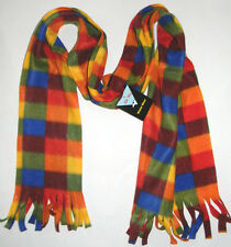 SOLID WING WINTER WEAR CHECKED MULTICOLOR SCARF