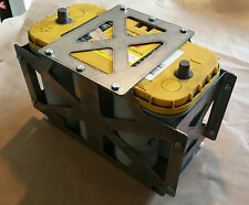 Optima D31A Battery box Tray yellow red top tray offroad rock crawler Heavy Duty