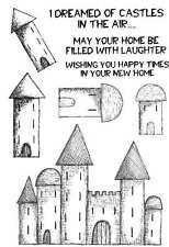 Sweet Dixie Clear Stamps I Dreamed of Castles Lindsay Mason New Home house