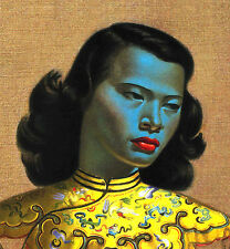 """Chinese Girl by Vladimir Tretchikoff  The Green Lady Poster 16 x 20"""" HQ Replica"""