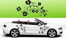f2 2x floral Flower Vinyl Car Graphics Stickers Decals Big Many colours
