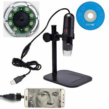 RISEPRO 200X 8-LED Zoom USB OTG Digital Microscope Endoscope XP/Vista/7/8 & Mac