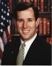 RICK SANTORUM signed 8x10 photo Auto COA 2016 PRESIDENTIAL CANDIDATE PROOF