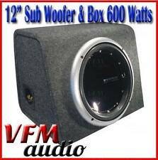 "12"" Car Audio Subwoofer in box 600 Watts 4 Ohm Car Sound"
