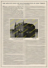 Holzmann Bagdadbahn Bahnhof Haidar Pascha Osmanisches Reich Türkei Istanbul 1916