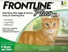Frontline Plus for Cats 3pk (3 Month Supply)