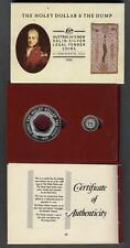 AUSTRALIA SET 1988 The Holey Dollar & The Dump AG Proof  - PROOF  - KM SET 1988