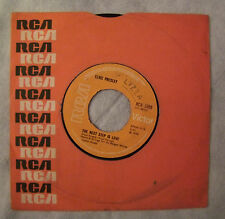 "ELVIS PRESLEY""THE NEXT STEP IS LOVE/ I'VE LOST YOU-Disc 45 g. RCA ENGLAND 1970"""