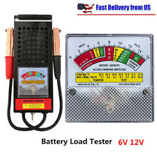 6V And 12V 100 Amp Car Van Auto Battery Load Drop And Charging System Tester