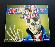 Grateful Dead Dave's Picks 4 Volume Four 9/24/1976 William & Mary Virginia 3 CD