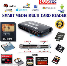 SMARTMEDIA MEMORY CARD READER USB HIGH SPEED ADAPTER SM SD CF TF XD Windows Mac