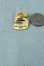HAT PIN CINDY TENT FLYER 55TH ANNIVERSARY 2004
