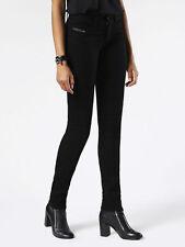 Diesel livier Stretch black Denim Trouser 0R800 Size 29 $168