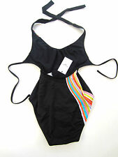 "Paul Smith SWIRL SWIM SUIT ""SWIM"" BANDEAU Size 1= UK 6 - 8"