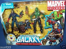 Marel Universe Figure Pack GUARDIANS OF THE GALAXY BABY GROOT STARLORD DRAX NIB