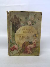 A Family Flight Through Spain by Miss Susan Hale 1883 Illustrated Free Ship.