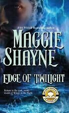 BUY 2 GET 1 FREE!  Edge Of Twilight -MAGGIE SHAYNE - Wings in the Night # 10