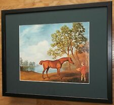 Pumpkin with a Stable Lad by George Stubbs, 20''x16'' frame, Masters paintings