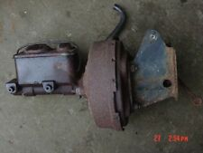 76-86 Jeep CJ power brake booster & brackets CJ5 CJ7 master cylinder brakes