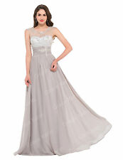 Sexy Long Formal Bridesmaid Prom Dress Wedding Party Cocktail Dress Evening Gown