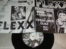 "7"" - Flexx - Creatures & Guilt - MINT Lyrics Punk # 2076"