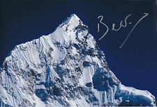 Bear GRYLLS SIGNED Autograph Photo AFTAL COA EVEREST Explorer British ADVENTURER