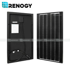30W Watts 30 Watt Monocrystalline Solar Panel 12V for RV Boat Battery Charge