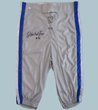 "Ed ""Too Tall"" Jones Autographed Custom Pants - Dallas Cowboys Super Bowl Champ"