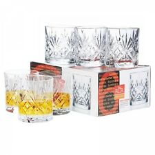 Set of 6 RCR Melodia Scotch Whiskey Glasses DOF