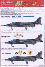 Kits World Decals 1/48 SEPECAT JAGUAR GR1A Camouflage Finish