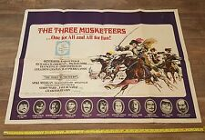 """Movie Poster """"The Three Musketeers"""" 1973"""