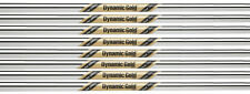 True Temper Dynamic Gold Tour Issue Iron Shafts 3-PW Set - X100 Flex - .355""