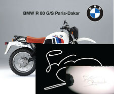 BMW R80G/S Paris Dakar-firma-Gaston Rayer-signature-unterschrift