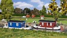 Faller 131008 HO 2 House Boats #New Original Packaging##