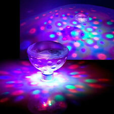 AU Underwater LED Disco AquaGlow Show Pond Pool Tub Floating Bath Party Light
