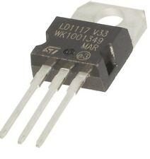 5pcs LD1117V33 Linear Voltage Regulator 3.3V 800mA TO-220
