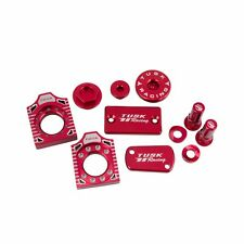 Tusk Billet Bling Kit RED SUZUKI RMZ250 RMZ450