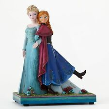 Disney Traditions Jim Shore Frozen Elsa & Anna Sisters Forever Musical Figurine