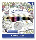 STAEDTLER 185 C24JB Noris Colour Colouring 24 Pencils - Johanna Basford Edition