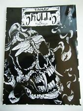 Tibetan Skulls Japan Horimouja Japanese style Skull tattoo Flash Book 11""
