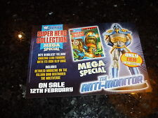 "SUPER HERO COLLECTION SPECIAL ""ANTI-MONITOR"" - DC COMIC FLYER"