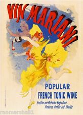 French France Vin Mariani Tonic Wine Vintage Advertisement Art Poster Print