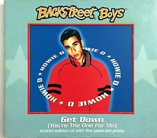 Backstreet Boys Maxi CD Get Down (You're The One For Me) - Limited Edition,