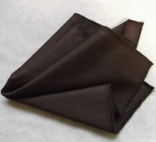 NEW CHOCOLATE BROWN EGYPTIAN COTTON HANKIE HANDKERCHIEF TOP POCKET SQUARE
