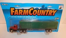 Ertl 1:64 Farm Country 1960 Mack Semi and Flat Bed Trailer #4220 NIP