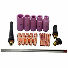 TIG KIT & TIG Welding Torch Consumables Accessories FIT WP 17 18 26 Series 22pcs