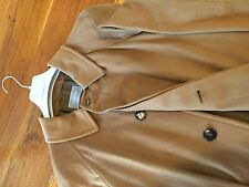 COAT BY AGNONA MENS BRAND NEW CAMEL COLOUR SIZE UK 38/EU 48 100% PURE CASHMERE.